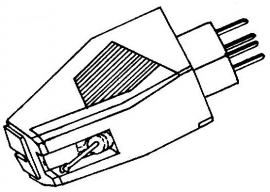 Audio Technica AT3482 PB pick-upelement