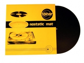 Tonar Nostatic Mat Black rond 300 mm / dik 2 mm