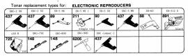 Overige typen Electronic Reproducers: Tonar-vervangers