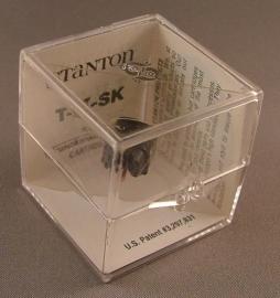 Stanton T II SK pick-upnaald zwart voor Trackmaster II element = ORIGINEEL