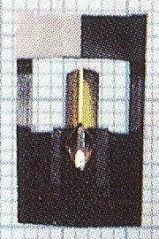 Pioneer PN135 zwart pick-upnaald = Micro-Mel 833 Diamant Stereo