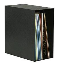 Knosti zwarte archiefdoos voor 50 grammofoonplaten