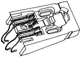 Dual platenspeler headshells