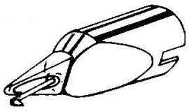 Bang & Olufsen SP12 naked elliptical pick-upnaald