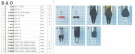 Overige typen Bang & Olufsen: MicroMel-vervangers