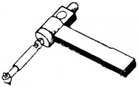 BSR ST8 pick-upnaald = Tonar 286 Diamant Stereo / Diamant Stereo