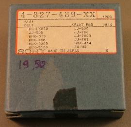 Sony PSLX550 platenspelersnaar = Sony 4-827-489-XX ORIGINEEL