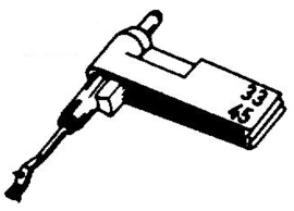 Perpetuum Ebner PE188 pick-upnaald
