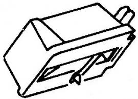 Lenco M150 paars pick-upnaald = Tonar 565 Diamant Stereo