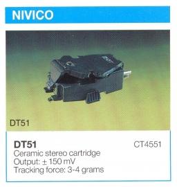 Overige typen elementen Nivico: MicroMel-vervangers