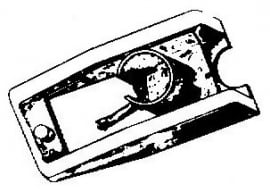 Sony ND100 G / VL100 G groen pick-upnaald = Tonar 727 Diamant stereo