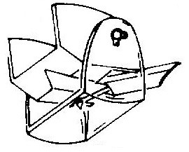 Shure N11 SPS Series bruin pick-upnaald = Tonar 6321 Diamant Elliptisch