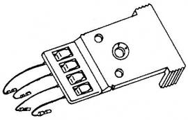 BSR BDS80 A-111497 headshell = Tonar 3096