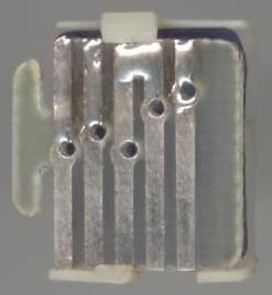 Dual contactplaatje