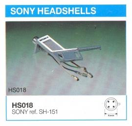 Overige typen headshells Sony: MicroMel-vervangers