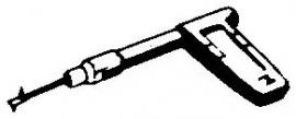 Novak Clarville pick-upnaald = Tonar 72 Saffier Normaal / Diamant Stereo