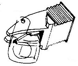 Dual TKS 60 E pick-upnaald