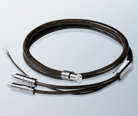 Ortofon 4N-TSW-6000 SIL Toonarm-kabel 2x RCA - 5-pin DIN 99.99% zilver 120 cm