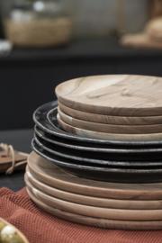 Diner Bord | Antique Black Dunes | Ø:28 cm | IB Laursen