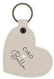 Sleutelhanger Heart | Ciao Bella | Naturel | Bastion Collections