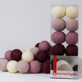 Cotton Ball Lights | Rosegarden | 20