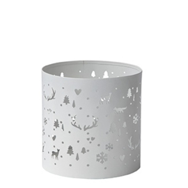 Tealight Winter Christmas | Large | Bastion Collections