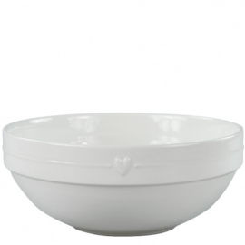 Salade Bowl | Large | Line & Heart | Bastion Collection