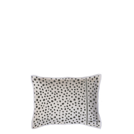 Kussen Happy Dots | 25 x 35 | Naturel | Incl. Vulling | Bastion Collections