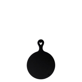 Serving Tray Hart Black | Rond | Medium | Bastion Collections