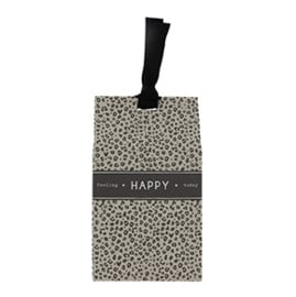Gift Bag met Pepermunt Hartjes | Happy | Bastion Collections