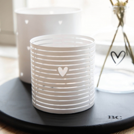 Tealight Summer Stripes | Small | Bastion Collections