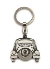 VW Beetle Sleutelhanger met Winkelwagenmuntje