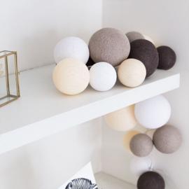Cotton Ball Lights | Premium | Naturel Softs | 20