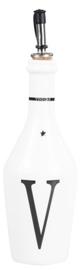 Vinegar Fles | Wit/Zwart | Bastion Collections