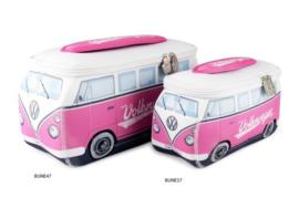 VW Bus | Koeltas -Toilettas | Neoprene | Roze