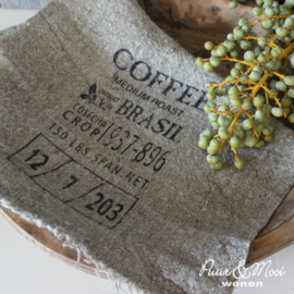 Shabby Doek |  Coffee |  30 x 45