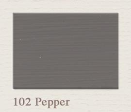 102 Pepper | Eggshell | Zijdemat Krijtlak | 750 ml