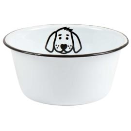 Voerbakje Emaille | Hond | Small | IB Laursen