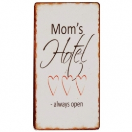 "Magneet ""Mom's Hotel Always Open"""