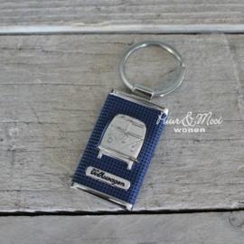 VW CAB | Sleutelhanger | Blauw | Uitverkocht