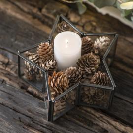 Stervorm kaarsenstandaard |  Zwart | IB Laursen
