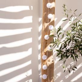 Outdoor lichtslinger | Wit | Lubanida