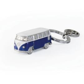 VW T1 Bus | 3D Sleutelhanger | Blauw