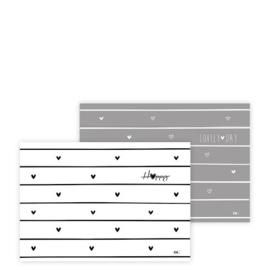 Placemat Papier Blok met 50 vellen | Bastion Collections