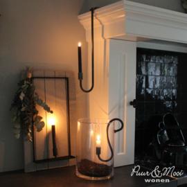 Hangkandelaar Luik | Metaal | 50  cm | Puur wonen | Tijdelijk Uitverkocht