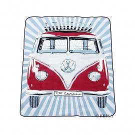 Picnick Kleed | VW T1 Camper | Rood (Waterdicht)