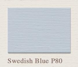 P81 Swedisch Blue | Eggshell Zijdemat Krijtlak | 750 ml