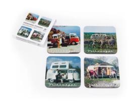 VW Onderzetters | Set 4 | Sceneries
