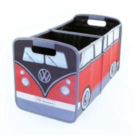 VW T1 | Opvouwbare Opbergbox | Rood