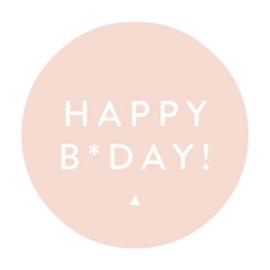 Stickers | Happy B-Day Roze | Set 10